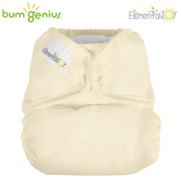 BumGenius Elemental JOY - Noodle (Vanille) - Pocketwindel (ohne Einlagen)