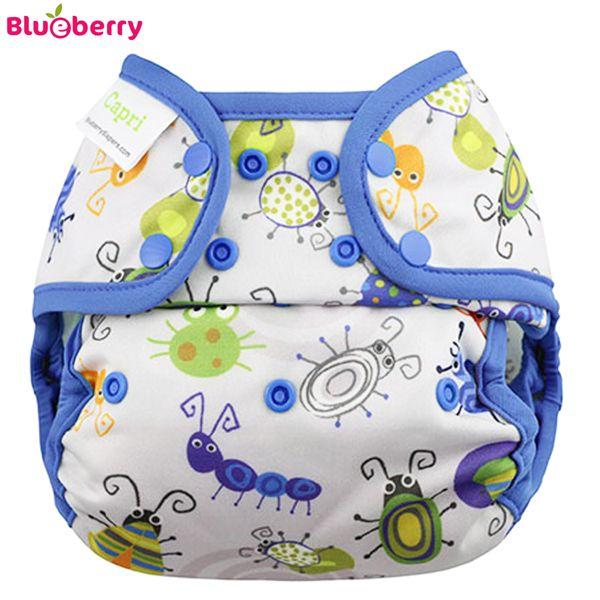 Blueberry Überhose Coveralls - Bugs (Druckies)