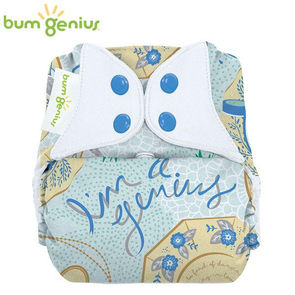 BumGenius V5.0 Pocketwindel One Size - Austen (Limited Edition)