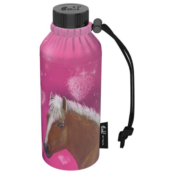 Emil die Flasche (400ml) - Komplettset Weithals - Pink Horse
