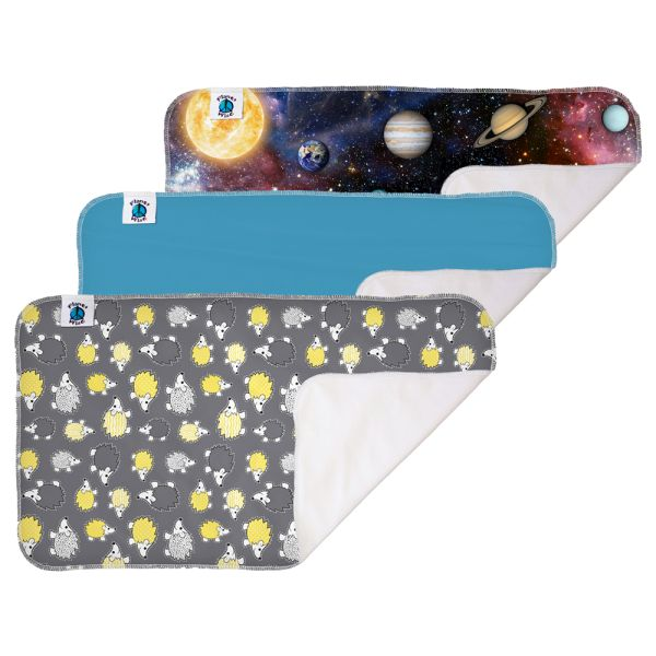 Planet Wise - wasserdichte Wickelunterlage (Polyester) - 32x57cm