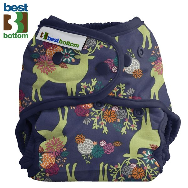 Best Bottom - Überhose (SIO) BIGGER (XL 5-20+ kg) - Baumwolle - Caribou Bloom