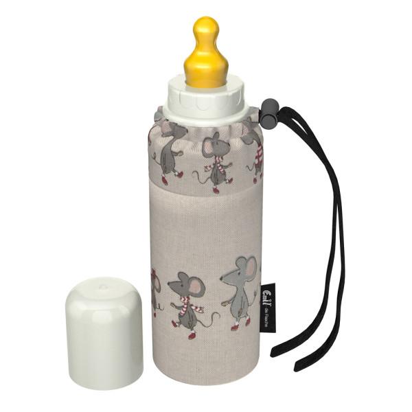 Emil - Babyflasche (250ml) - Komplettset - Mäusefreunde (Bio-Baumwolle)