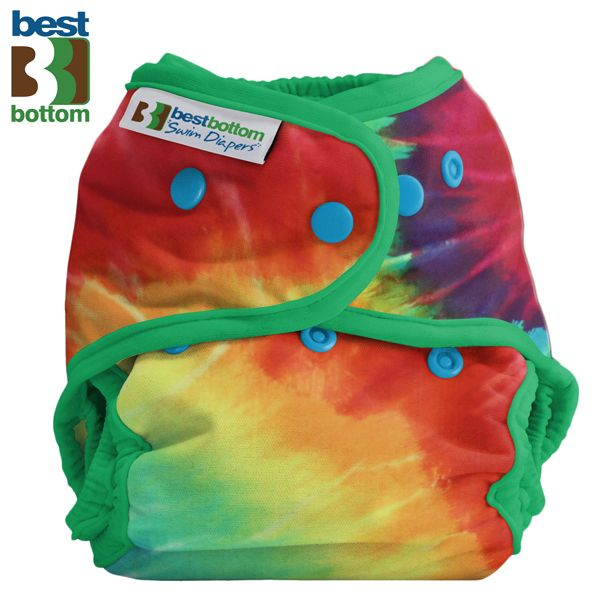 Best Bottom - Schwimmwindel (One Size) - Regenbogen
