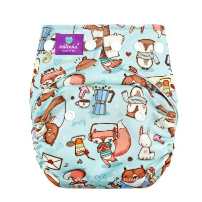 Milovia Coolmax Pocketwindel (One Size) Little Pleasures