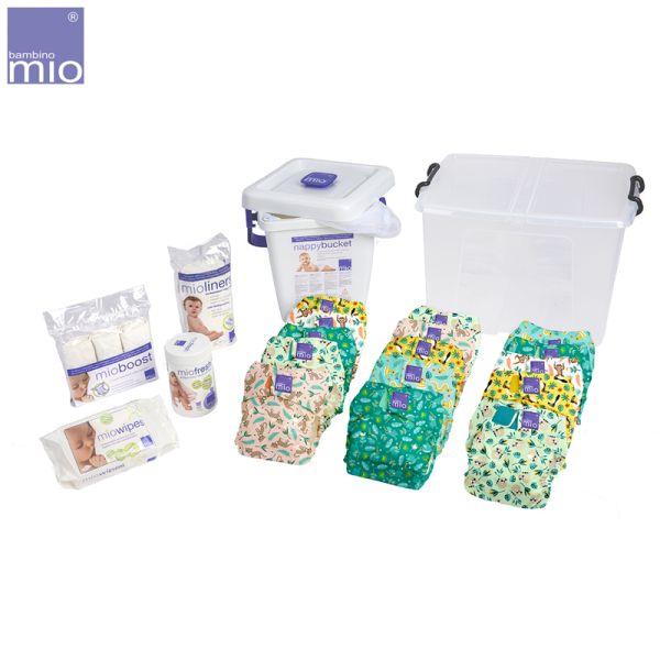 Bambino Mio - MioSolo Premium Set (15 Windeln & Zubehör)