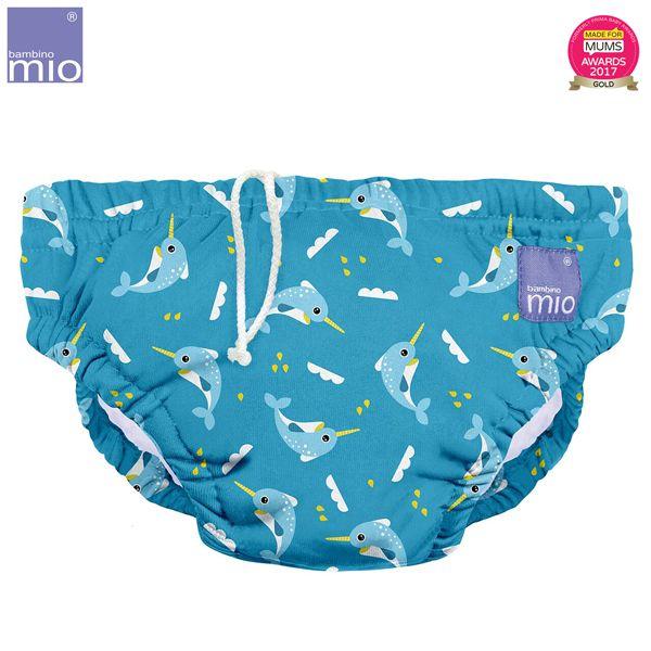 Bambino Mio - waschbare Schwimmwindel - Swordfish (S-XL)