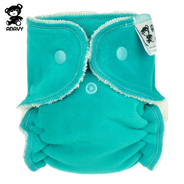 Anavy Höschenwindeln - Jade (Blau) - Newborn (2-6 kg)