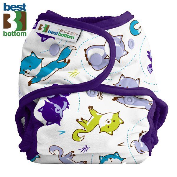 Best Bottom Diapers (PUL) Überhosen - BIGGER/XL (Druckies) - Foxy Frolic