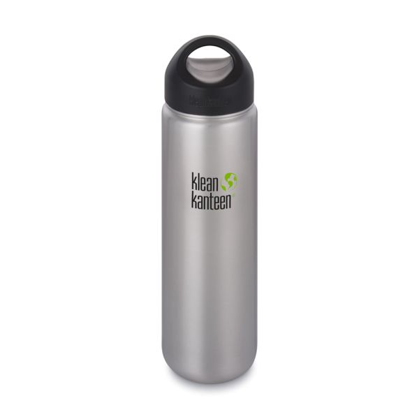 Klean Kanteen - Wide (Trinkflasche) - Loop Cap (800ml)