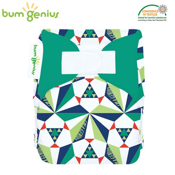 BumGenius Littles Newborn (AIO) - Sierpinski (Limited Edition)