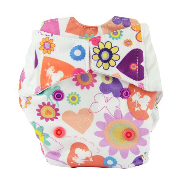 Mommy Mouse - Komplettwindel (AIO) - Newborn (2,5-7 kg) - Thumbelina