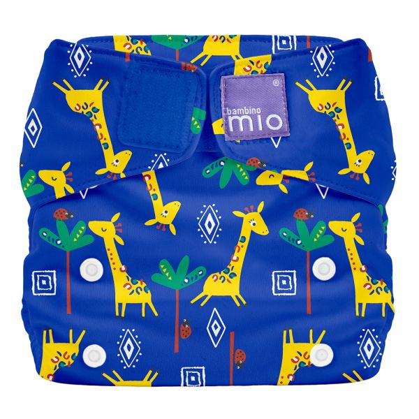 Bambino Mio - MioSolo (All-in-One) One Size Windel - Giraffe Jamboree