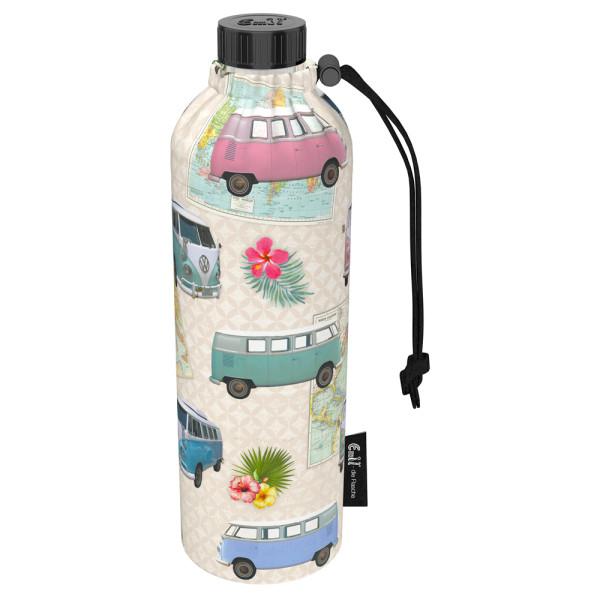 Emil die Flasche (750ml) - Komplettset (Bio-Baumwolle-Überzug) Weithals - Bulli
