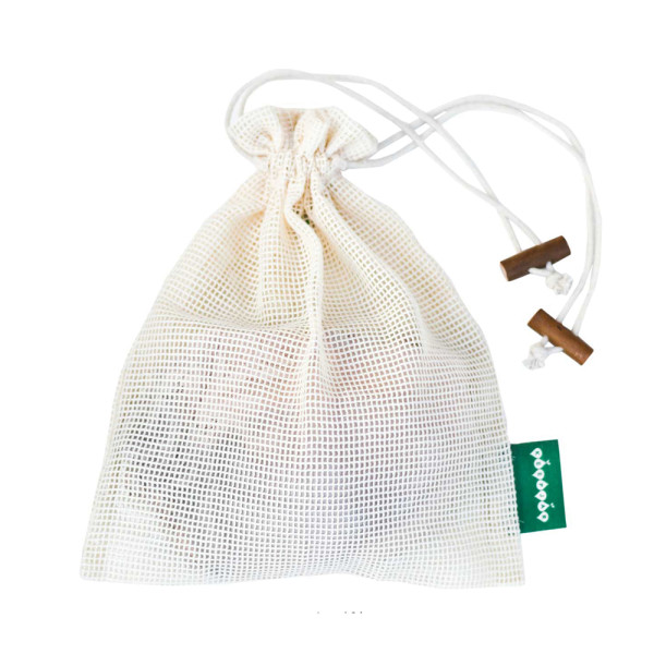 KeepJar - Wäschenetz aus Bio-Baumwolle mit Kordelzug (24x30 cm)