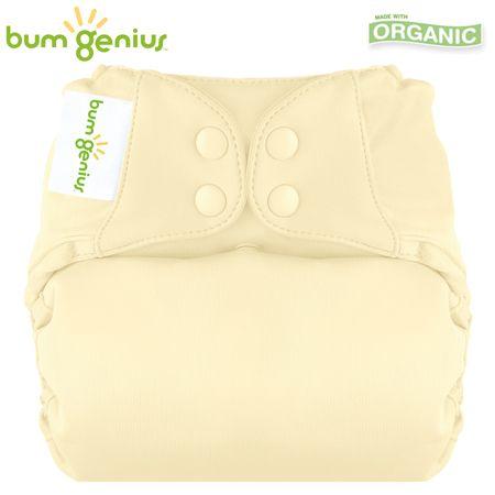 BumGenius Elemental V3.0 One Size (AIO) - Noodle (Vanille)