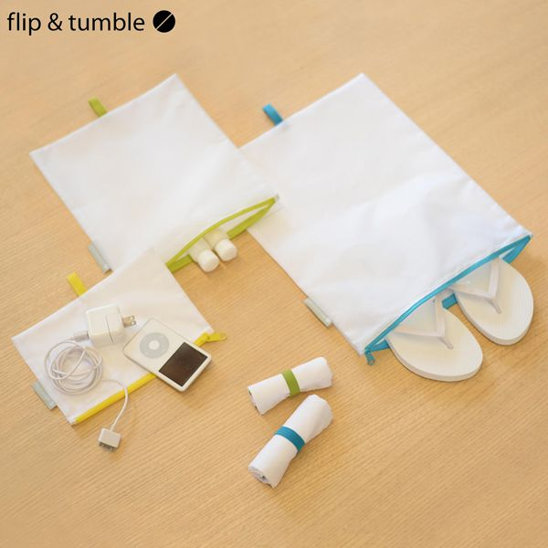 Flip & Tumble - Travel Pouches (Reisetaschen) - 5er Set