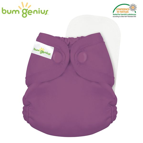 BumGenius - Littles 2.0 Newborn (2-6 kg) - Jelly (Flieder)