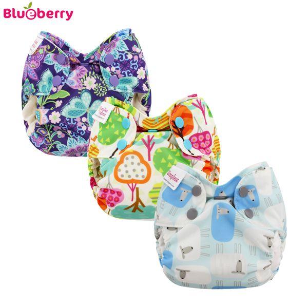 Blueberry Simplex Newborn (AIO) - Spar Paket (3 Stück)