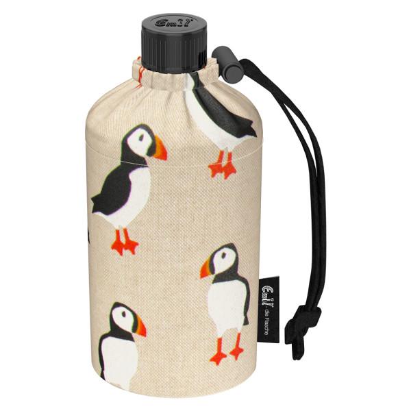 Emil die Flasche (300ml) - Komplettset (Bio-Baumwolle-Überzug) - Birds