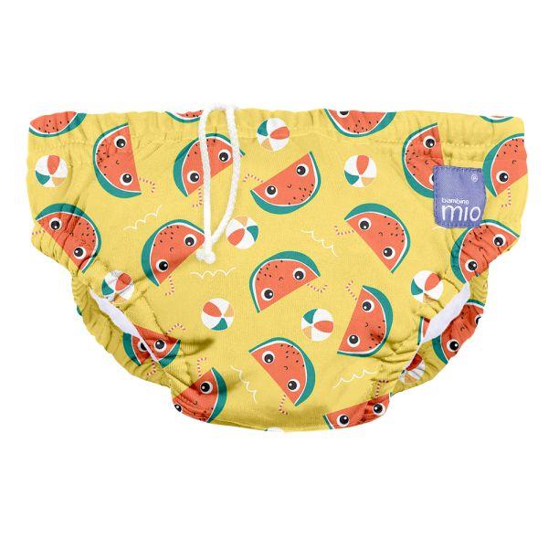 Bambino Mio - waschbare Schwimmwindel - Mellow Melon (S-XL)