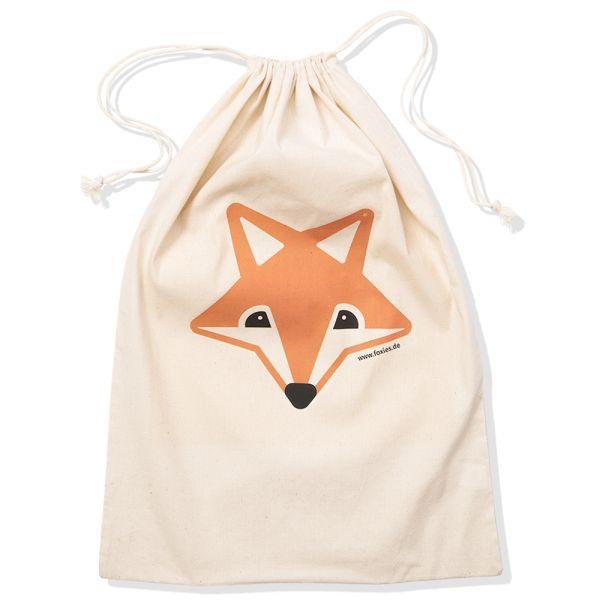 Foxy Baby - Wäschesack - Seesack - 100% Baumwolle (75x50 cm)