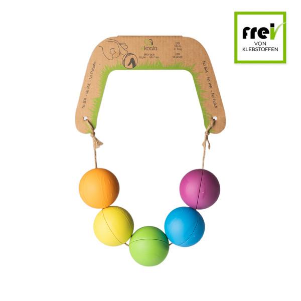 eKoala - eKorace Ball - Murmeln (100% Bio-Kunststoff) - biologisch abbaubar - 5 Stück