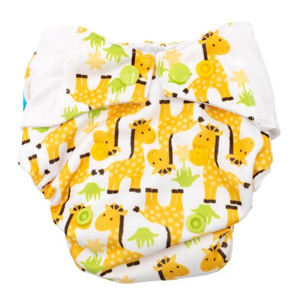 Mommy Mouse - Komplettwindel (AIO) - Newborn (2,5-7 kg) - Giraffe