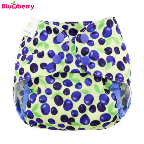 Blueberry - Capri 2.0 Überhose (Prefold) - Blueberries