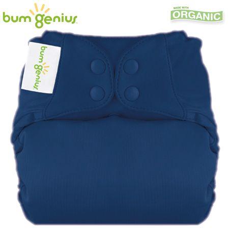 BumGenius Elemental V3.0 One Size (AIO) - Stellar (Nachtblau)