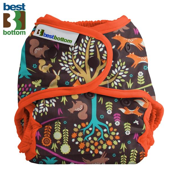 Best Bottom Diapers - Baumwoll Überhosen - Jewel Woods