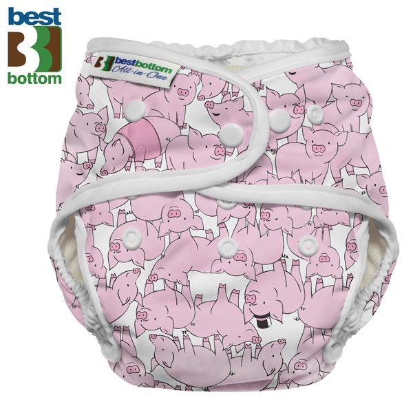 Best Bottom - Heavy Wetter AIO (One Size) - Schweinchen