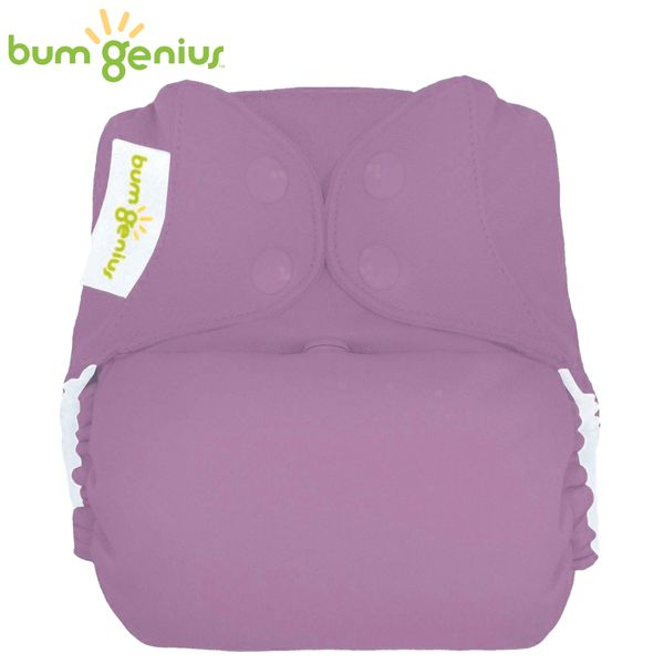 BumGenius Freetime One Size (AIO) - Jelly (Flieder)