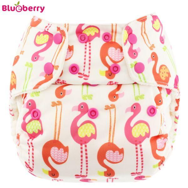 Blueberry Deluxe Pocket - Flamingo (ohne Einlagen)