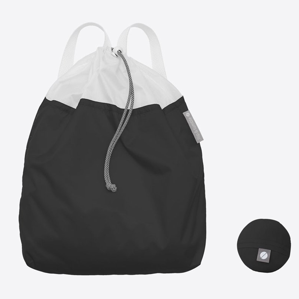 a8f5d9ac1c0cc ... Vorschau  Flip   Tumble - Drawstring Backpack (faltbare Rucksack-Tasche  mit Kordelzug)
