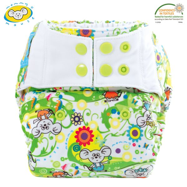 Mommy Mouse - Überhose (Newborn, One Size, XL) - Lemon Tree