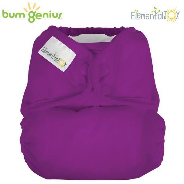 BumGenius Elemental JOY - Dazzle (Lila) - Pocketwindel (ohne Einlagen)