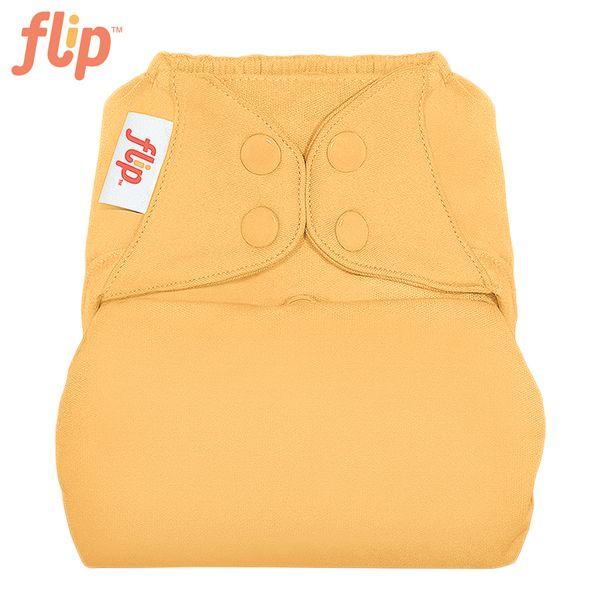 Flip Überhose One Size (Druckies) - Clementine (Mandarine)