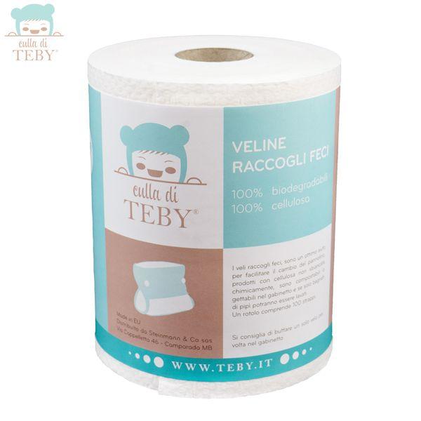 Culla di Teby - Papier Windelvlies - Zellstoff (100 Blatt) bei Stillstuhl