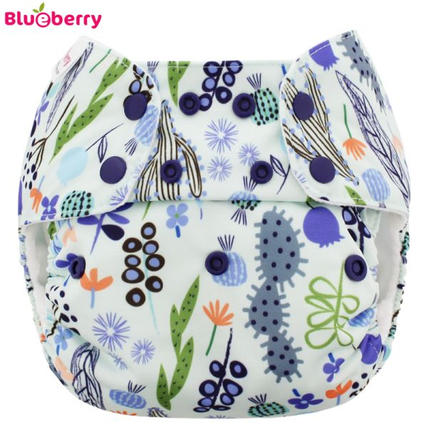 Blueberry - Simplex OneSize (AIO) - Bio-Baumwolle (GOTS) - Sedona