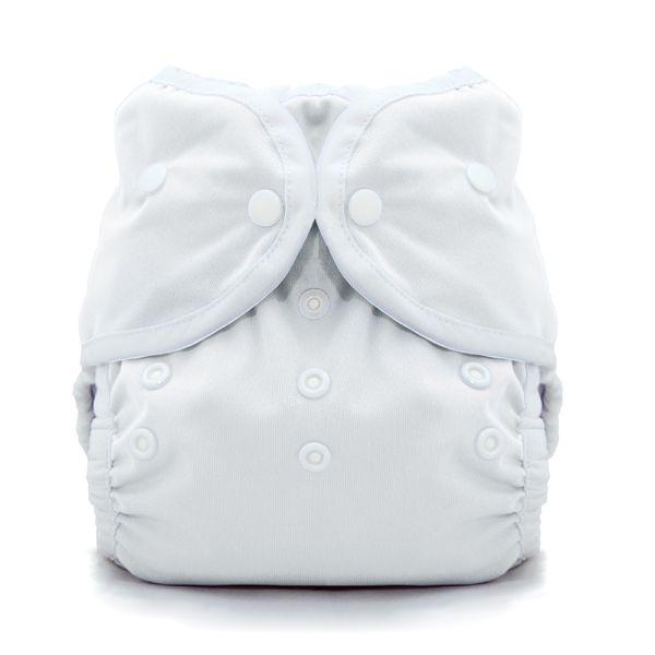 Thirsties - DUO Wrap - Überhose - White (Druck- & Klettverschluss)