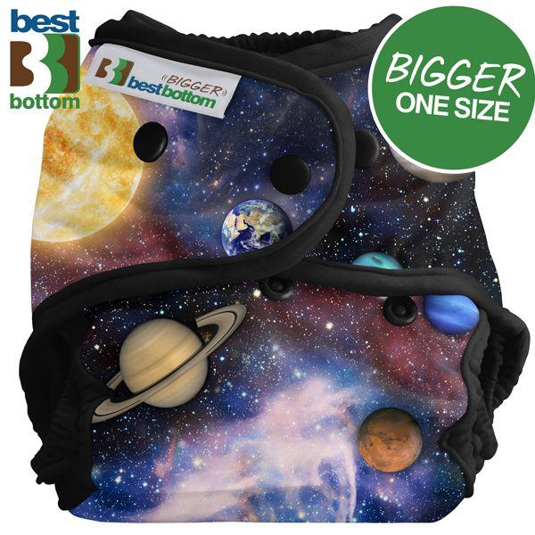 Best Bottom Diapers (PUL) Überhosen - BIGGER/XL (Druckies) - Far Far Away