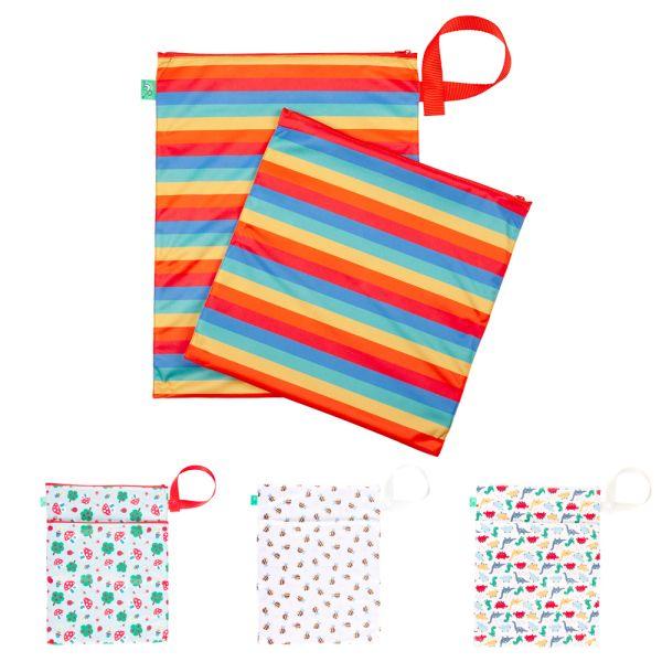TotsBots - doppelter Wetbag & Drybag mit Trockenfach (38x30 cm)