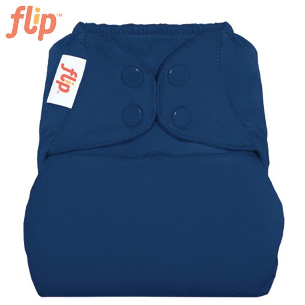 Flip Überhose One Size (Druckies) - Stellar (Nachtblau)