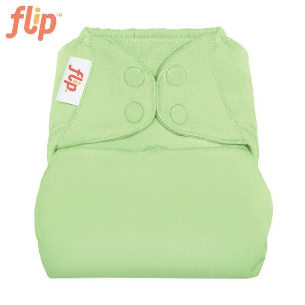 Flip Überhose One Size (Druckies) - Grasshopper (Grasgrün)