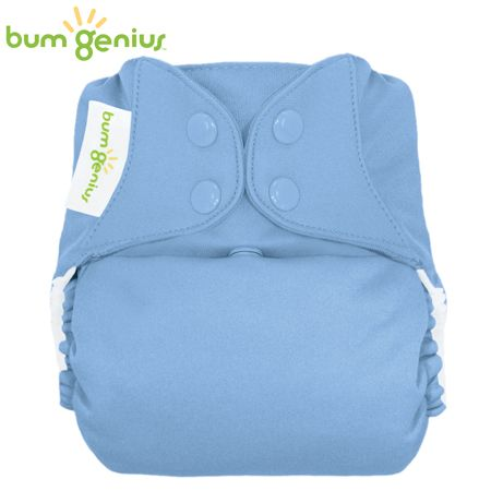 BumGenius Freetime One Size (AIO) - Twilight (Hellblau)