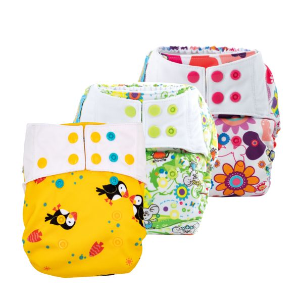 Mommy Mouse Überhosen (Newborn, One Size, XL) - Spar Paket