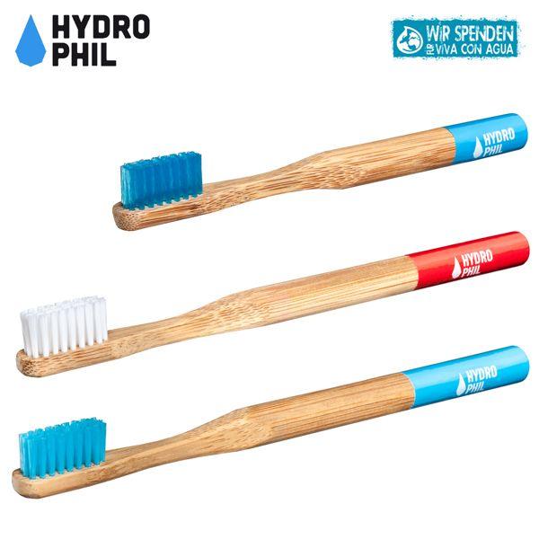 Hydrophil Bambus-Zahnbürsten - Spar Paket -