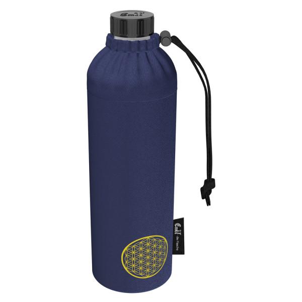 Emil die Flasche (750ml) - Komplettset (Bio-Baumwolle-Überzug) Weithals - Energy