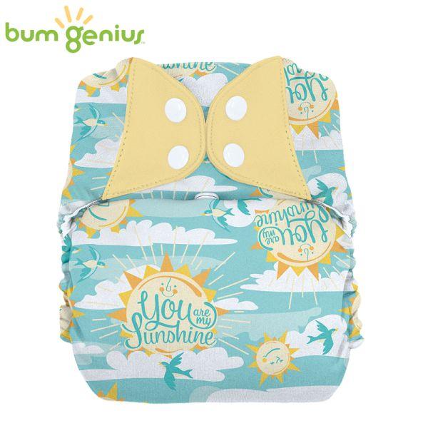 BumGenius XXL-Pocketwindel - BIG (16-32 kg) - My Sun (Muster)